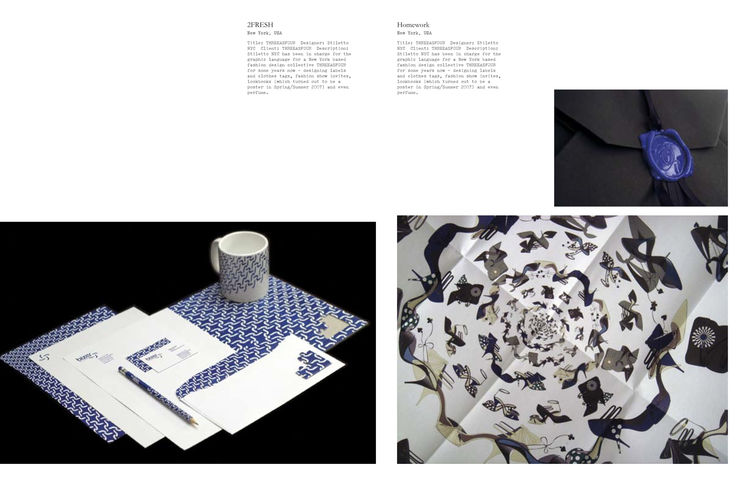 Spread from <i>Colour Mania</i>, published by Viction:ary, distributed in the United States by Gingko Press