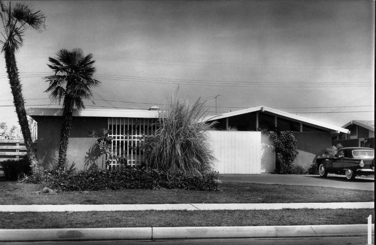Corbin Palms by William Krisel.