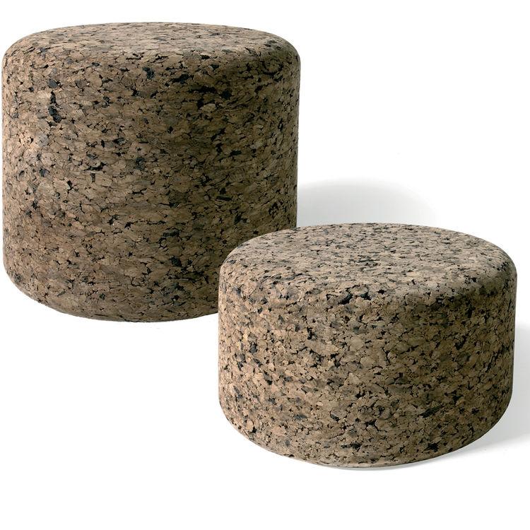 "<b>Corks</b> by Jasper Morrison for <a href=""http://www.moooi.com"">Moooi</a>, $356 for low Cork, $347 for high Cork"