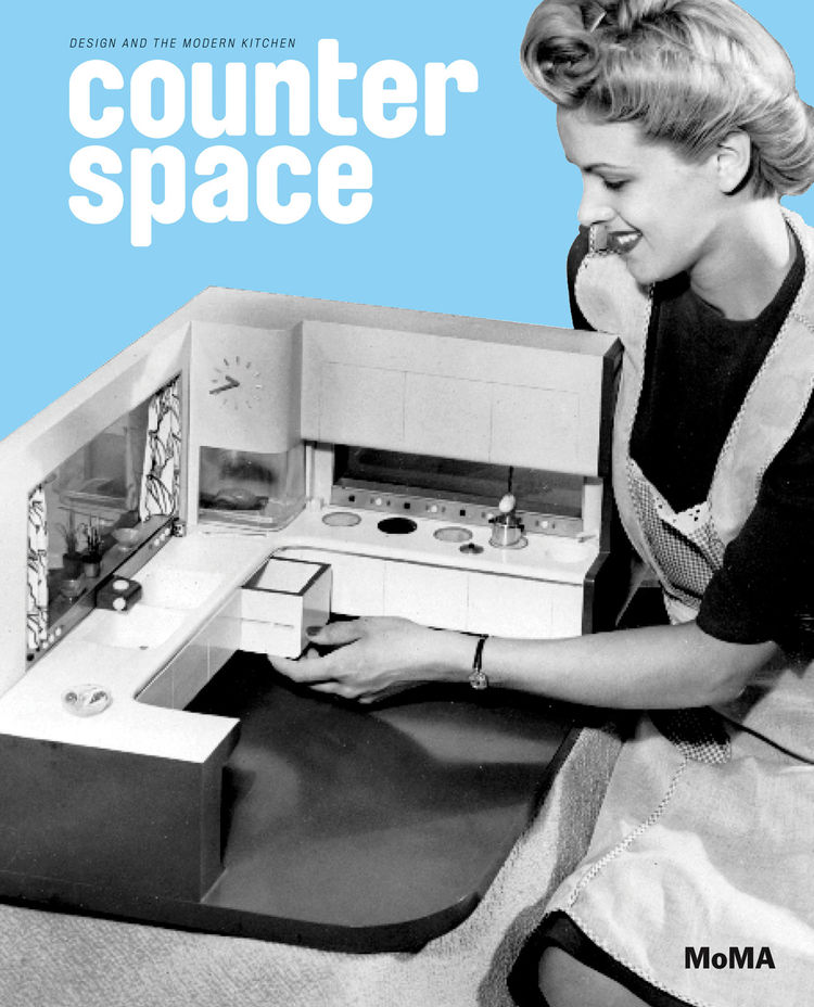 The cover of Counter Space offers us a winking view of domestic tranquility. The objects inside the book however take a much more functionalist view of the space where we cook and clean.