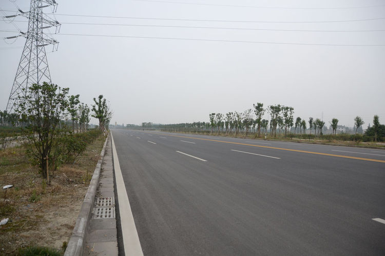 By day two of her trip, Shahid changed her plan of taking only local roads and switched to riding on the national roads, which are one tier down from the much more busy highway arterials. She's come across sections of the national roads that are still und
