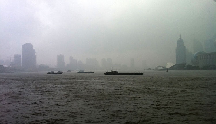 """At last, Shanghai. """"I made it just in time to avoid the rain and any possible delays in my travel plans,"""" she says."""
