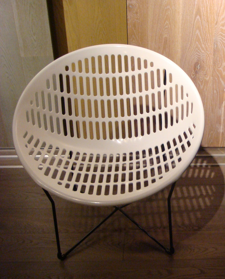 """Part of the Quebec Museum of Fine Art's permanent collection, the <a href=""""http://www.iel-lachance.com/"""">Solair chair</a>—designed in 1972 by Fabio Fabiano and Michelange Panzini—is one of the country's design icons. Popular in the 1960s and 70s, the desi"""
