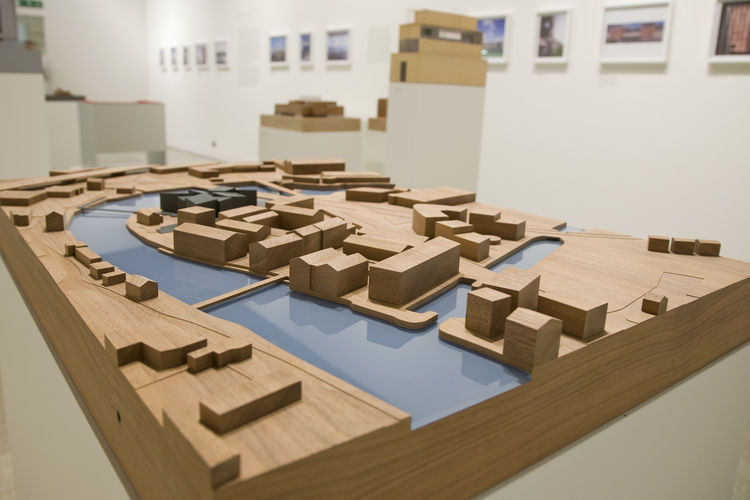 """Model from the <i>David Chipperfield: Form Matters</i> exhibition, on view at the <a href=""""http://designmuseum.org"""">Design Museum</a> through January 31, 2010. Photo by Luke Hayes and courtesy of the Design Museum."""