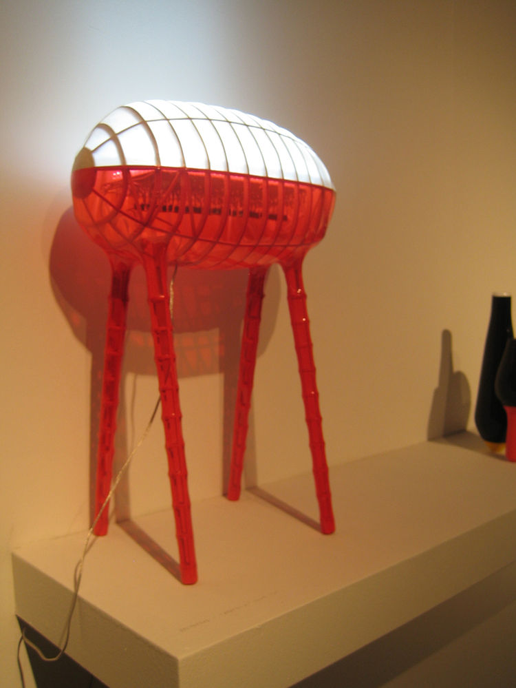 French designer Francois Azambourg's prototype lamp Sputnik was one of my favorites.