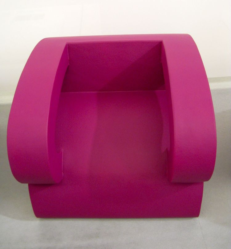This pop armchair transforms into a . . .