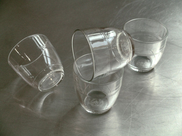 """<b>""""Duralex"""" Tumbler</b> """"A design icon. Great to hold and infused with memories of school and drinking wine on French holidays!"""" Photo courtesy of Labour and Wait."""