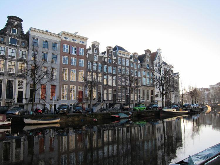 "Here's what the surrounding neighborhood looks like. The hotel overlooks the center canal, the Keizersgracht, and is set within the ""grachtengordel,"" the city's central canal-ring, within walking distance of the charming shops of the Nine Streets district"