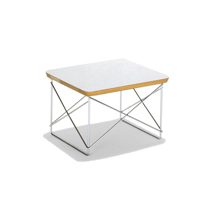 """The Eames Wire-Base Table by Charles and Ray Eames, $179, from <a href=""""http://www.hermanmiller.com/Products/Eames-Wire-Base-Table"""">Herman Miller</a>."""