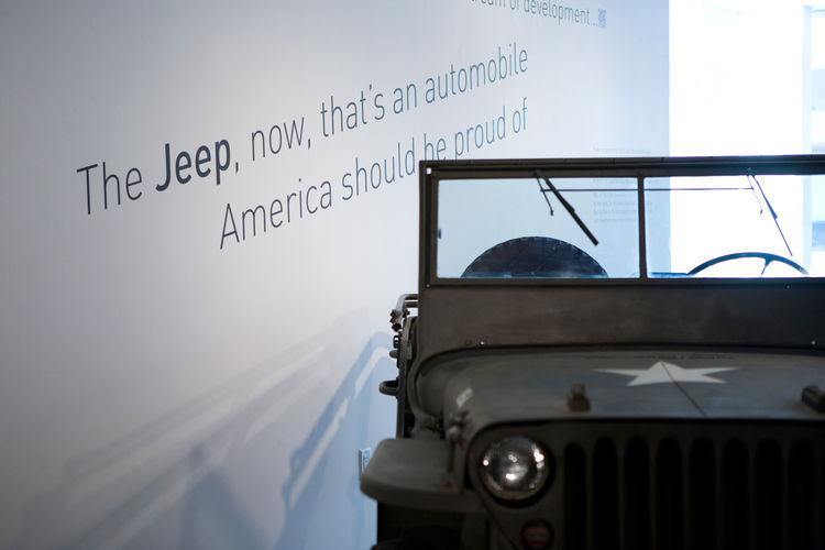 """After many years working together, Sussman accompanied Charles and Ray to an Aspen Design Conference, where Ray saw a Jeep on the street and turned to her and said, """"The Jeep, now, that's an automobile America can be proud of."""" Early on, as a summer inter"""