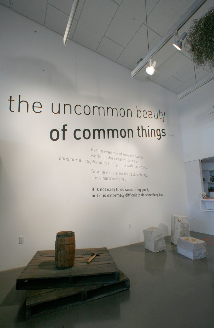 """""""'The uncommon beauty of common things,' this is most descriptive quote of the project,"""" says Sussman. """"They had this deep respect for common things,"""" adds Demetrios. """"It's an attitude toward the world and something the world really needs right now. As be"""