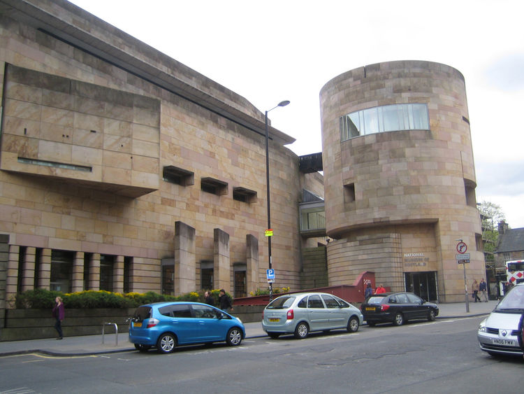 Here's the modern extension of the National Museum of Scotland by architects Gordon Benson and Alan Forsyth. Prince Charles hates it.