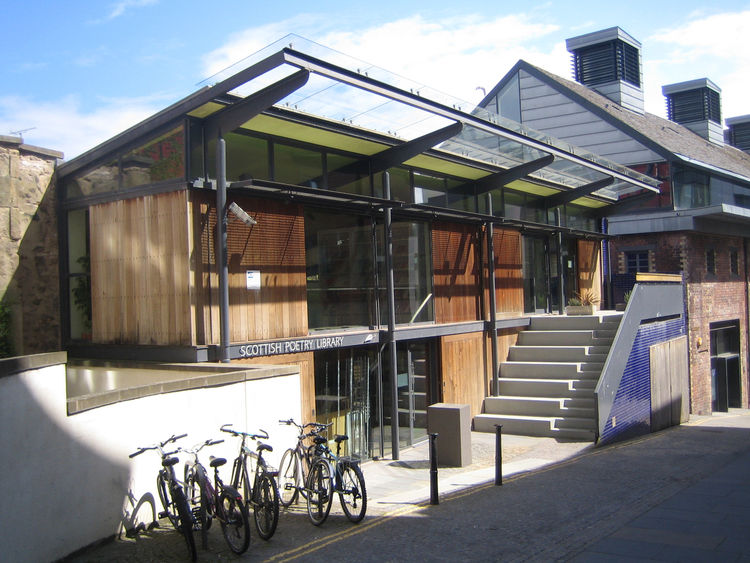 Here's the Scottish Poetry Library, also by Malcolm Fraser.