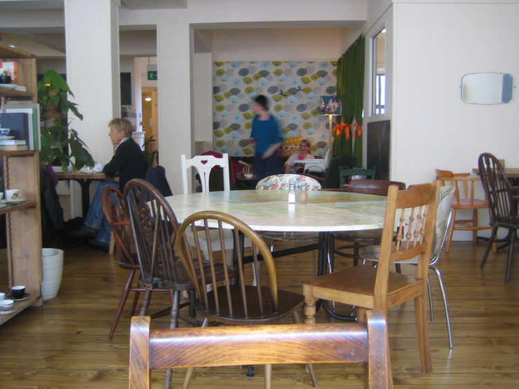 A glimpse of the dining room at Spoon.