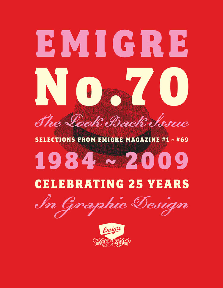<i>Emigre No. 70</i>, cover