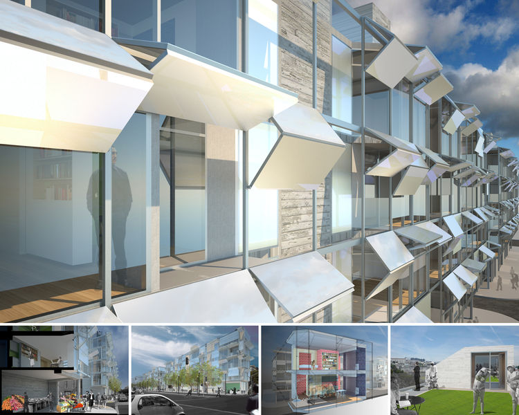 """<a href=""""http://www.envelopead.com/proj_octavia.html"""">Octavia Boulevard Housing in San Francisco, California,</a> designed by <a href=""""http://www.envelopead.com"""">Envelope A+D</a>, honorable mention in the <a href=""""http://www.aiasf.org/Programs/Awards_Prog"""