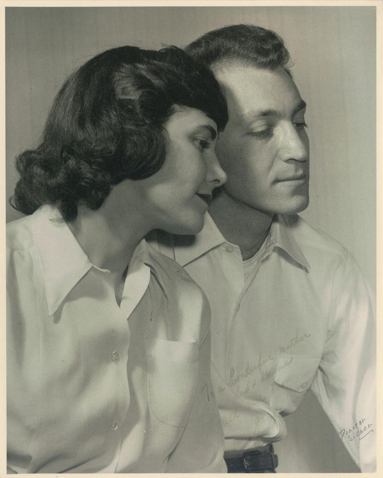 The designing couple: Evelyn and Jerome Ackerman, 1948. Image: Milton Lipton