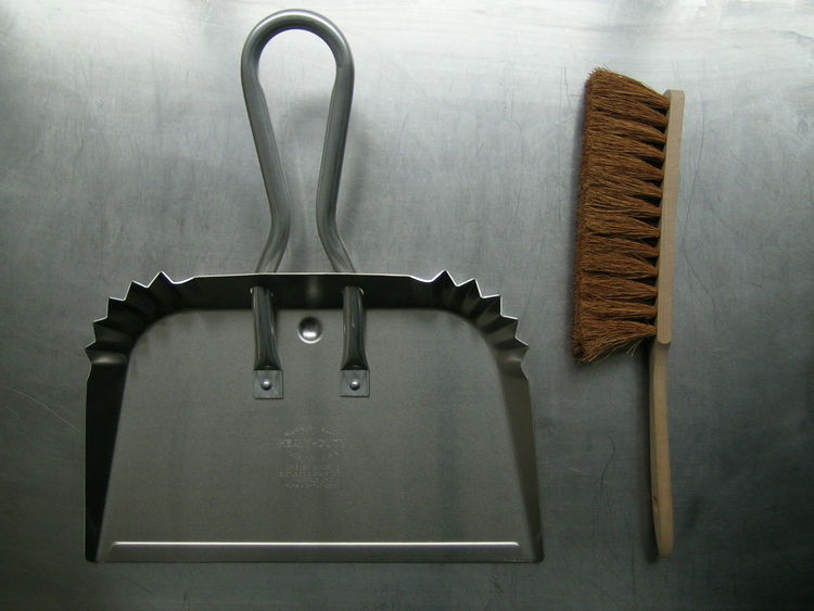 """<b>Giant Dustpan</b> """"One of our all time favorites. We first saw this product in the United States. We were instantly drawn to its practical and simple styling."""" Photo courtesy of Labour and Wait."""
