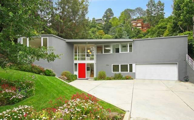 Influential Southern-California architects Gregory Ain and Pierre Koenig both made their mark on this funky mid-century home in Los Angeles. Priced at just below $2,000,000, this 16,850 square foot lot features a main house designed by Ain in 1952, and a