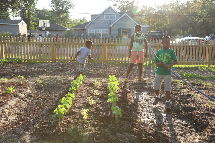 "Growing Home has a green agenda as well. ""It's woven into the program in a subtle way to help push people to a more sustainable future,"" Feldman says, noting the incorporation of water-harvesting and composting systems in the list of credited projects. Of"