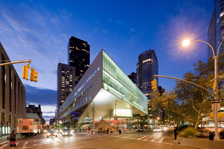 Kristal especially likes Alice Tully Hall in New York City by Diller Scofidio + Renfro. Photo by Iwan Baan.