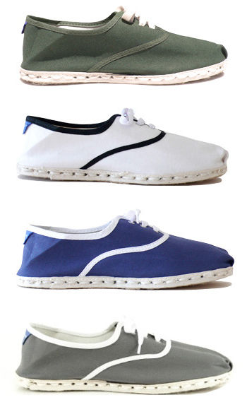 Espadrilles by Industry of All Nations.