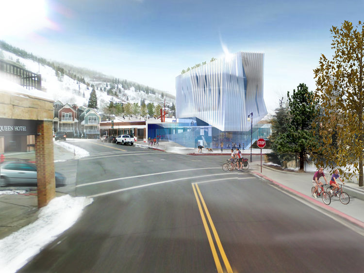 I caught a movie at Sundance with one of the Kimball's board members and he told me that he quite liked Brook and Scarpa's choice of making the corner a focal point of the design.