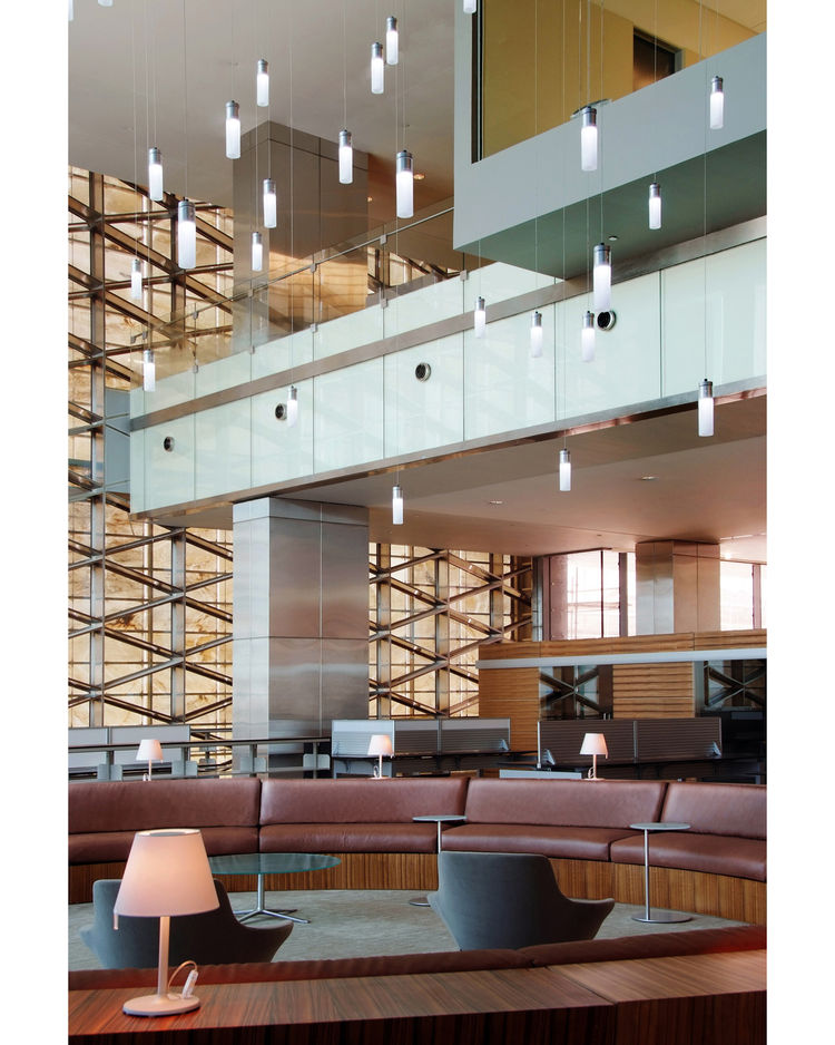 """<a href=""""http://www.hok.com/"""">HOK</a>'s San Francisco office won a second award, claiming a Serve Merit Award for the King Abdullah University of Science and Technology (KAUST) Academic Library."""