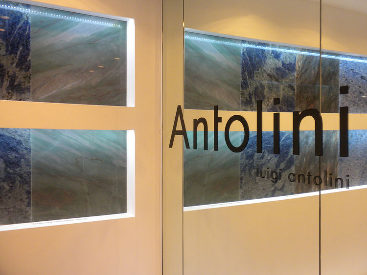 """Among the many quartz and acrylic surface manufacturers at KBIS, <a href=""""http://antoliniusa.com/"""">Antolini Luigi</a> stood out visually with its solid granite surfaces. The company showed new stone cuts and incredible colors in polished and matte finishe"""