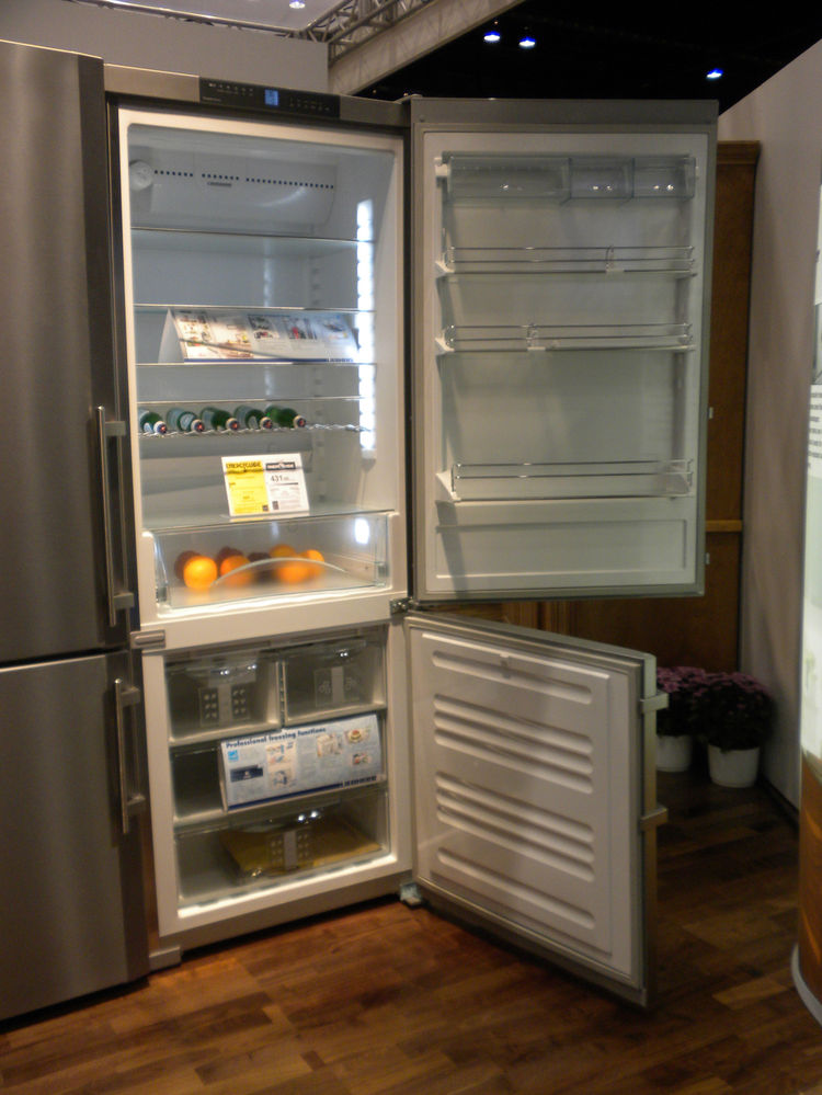 "<a href=""http://www.liebherr.us/us-lh/en/default_us-lh.asp"">Liebherr</a>'s claim on the refrigeration market is its ability to keep food fresh longer. The freezer drawers, rather than wire racks, help keep food cold and reduce the loss of cold air wheneve"