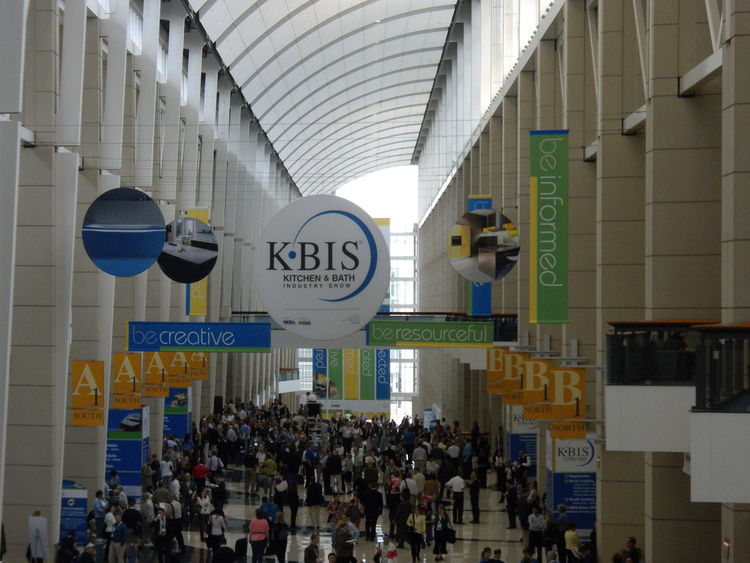 Inside the convention center, an estimated 35,000 attendees filled the North and South halls.