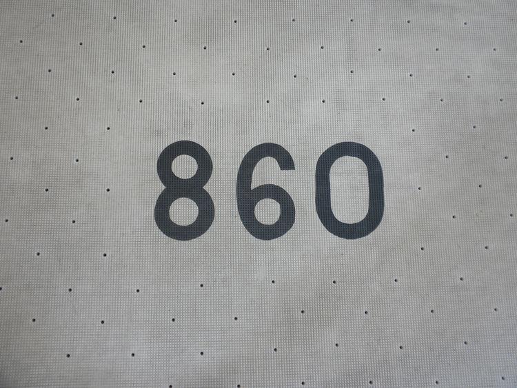 The door mat to 860 Lake Shore Drive.