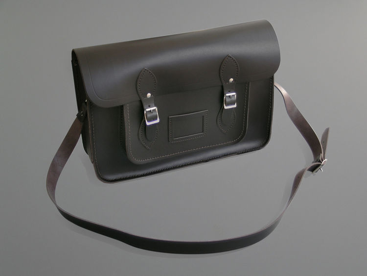 """<b>Large Brown Satchel</b> """"A real classic. We like the nostalgic appeal of this satchel."""" Photo courtesy of Labour and Wait."""