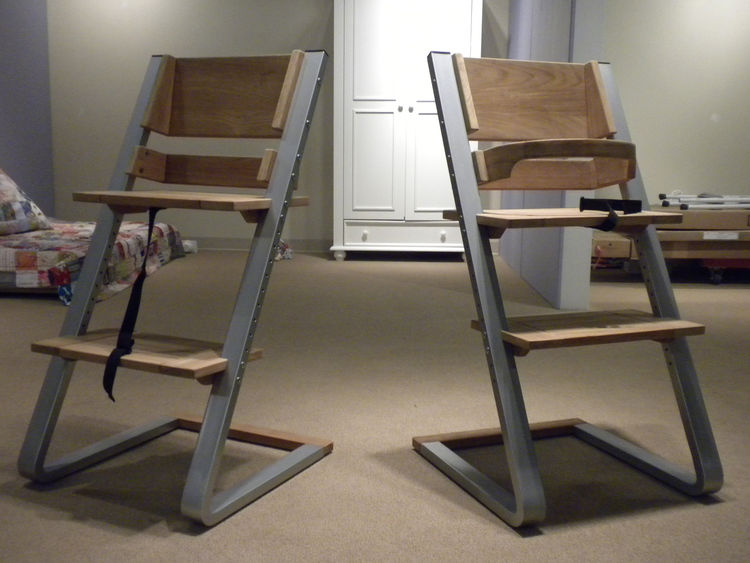 "Shown here is a new, yet-to-be released chair by <a href=""http://www.arkgrouponline.com/Childwood_inandoutdoor.html"">In and Outdoor</a>, an Ark Group company. The Grown Chair resembles <a href=""http://www.stokke.com/en-us/highchair.aspx"">Stokke's Tripp Tr"