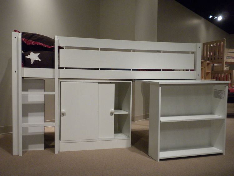 "Another simple, streamlined bed system (also available with modular add-ons) was the Whistler Collection from <a href=""http://www.canwood.com/"">Canwood Furniture</a>."