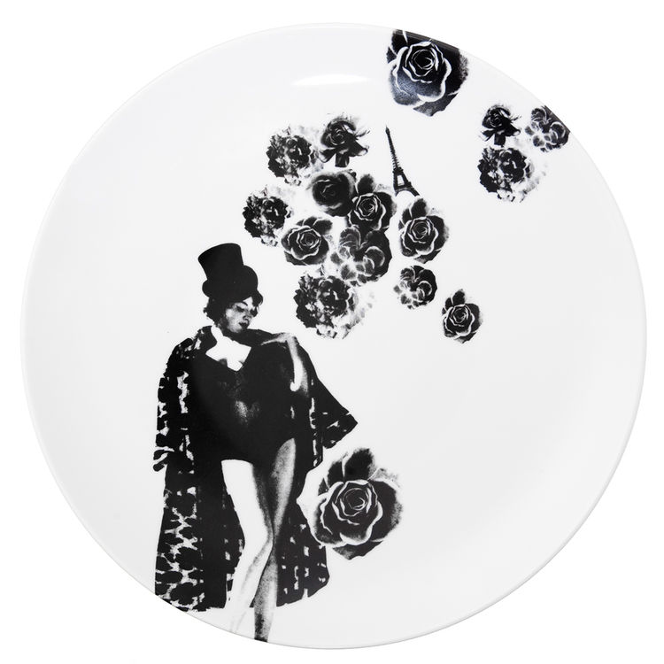Tant (or Lady) plate from the Between Us Women series, by Lisa Bengtsson