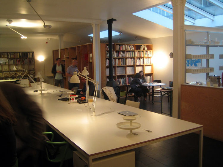 "As the day came to a close, I had the rare chance to visit the studio of a living legend of British design: <a href=""http://www.dwell.com/people/jasper-morrison.html?tab=designs&c=y"">Jasper Morrison</a>. They were throwing a party for the festival and als"