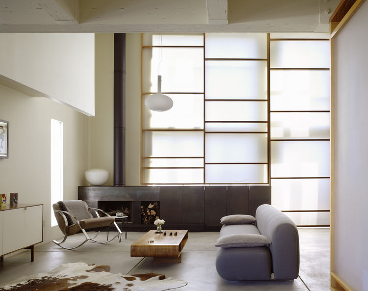 Pictured here is the Losa Loft in San Francisco, created by Aidlin Darling Design in 2006. Photo by Matthew Milman.