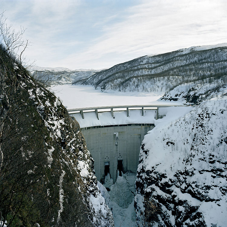 Damned Alta dam, Máze, 2005