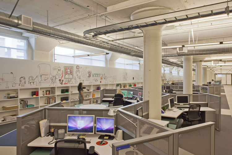 """<a href=""""http://www.gensler.com/"""">Gensler</a> was also awarded a Merit Award for Work Small for its McCann Worldgroup office space."""