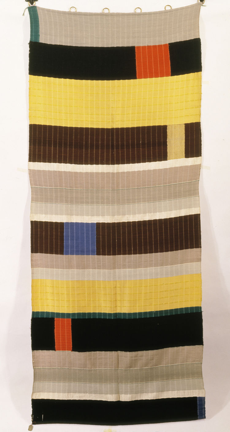 Wall hanging by Anni Albers. Image courtesy of the Museum of Modern Art.