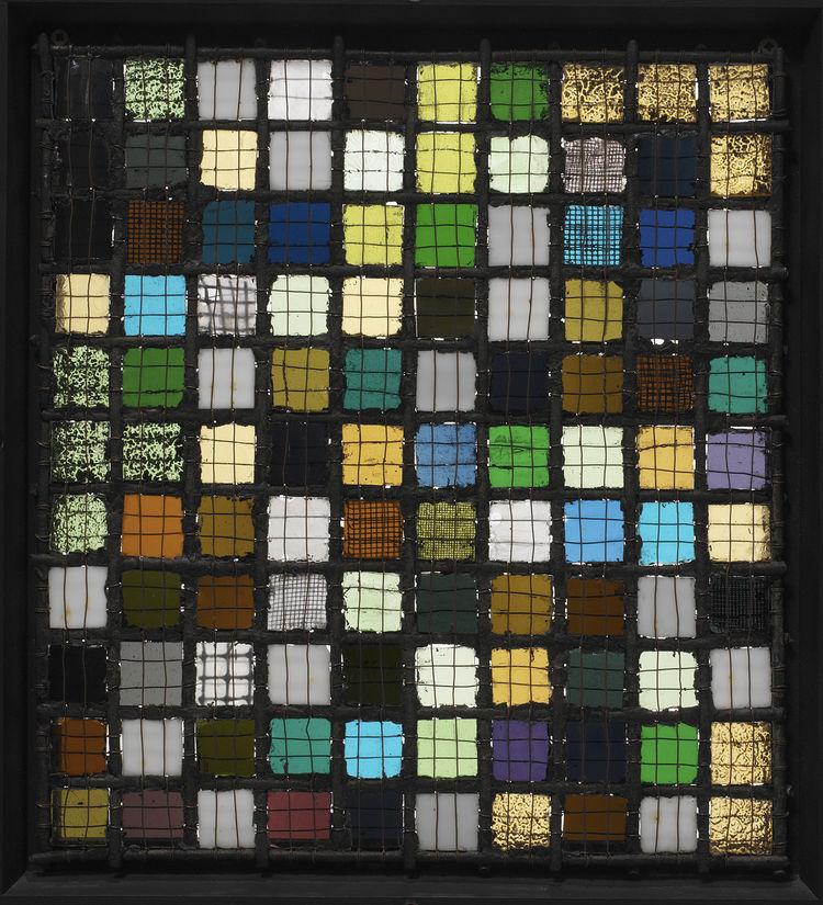 <i>Gitterbild</i> by Josef Albers. Image courtesy the Museum of Modern Art.