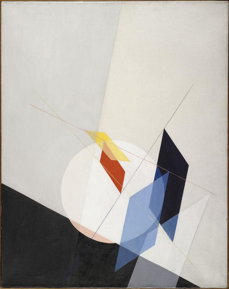 <i>A 18</i> by Laszlo Moholy-Nagy. Image courtesy the Museum of Modern Art.