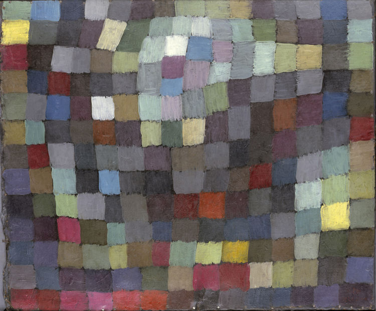<i>Maibild</i> by Paul Klee. Image courtesy the Museum of Modern Art.