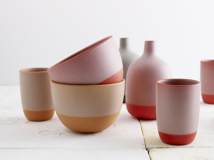 Heath Ceramics Tableware. Catherine Bailey (American, b. 1967) and Robin Petravic (American, b. 1968) with Christina Zamora (American, b. 1975), Heath Ceramics. United States, 2005–2009. Glazed ceramic stoneware. Photo: Jeffery Cross
