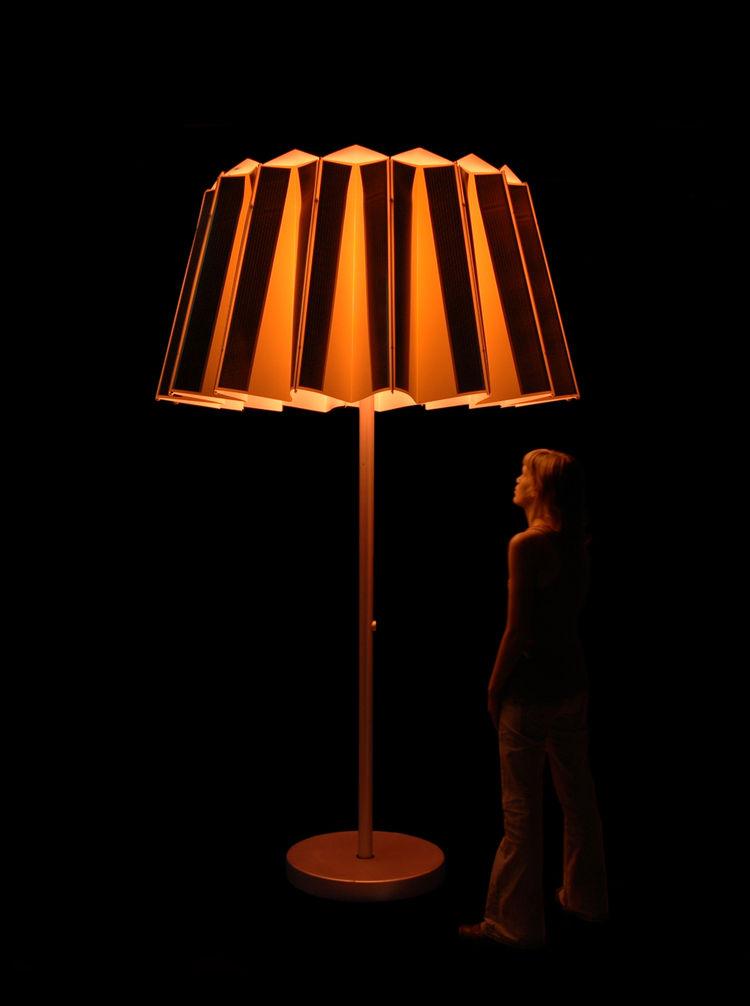 SunShade, prototype. Lianne van Genugten (Dutch, b. 1984), Lianne van Genugten Product Design. The Netherlands, 2007. Rendering: Lianne van Genugten