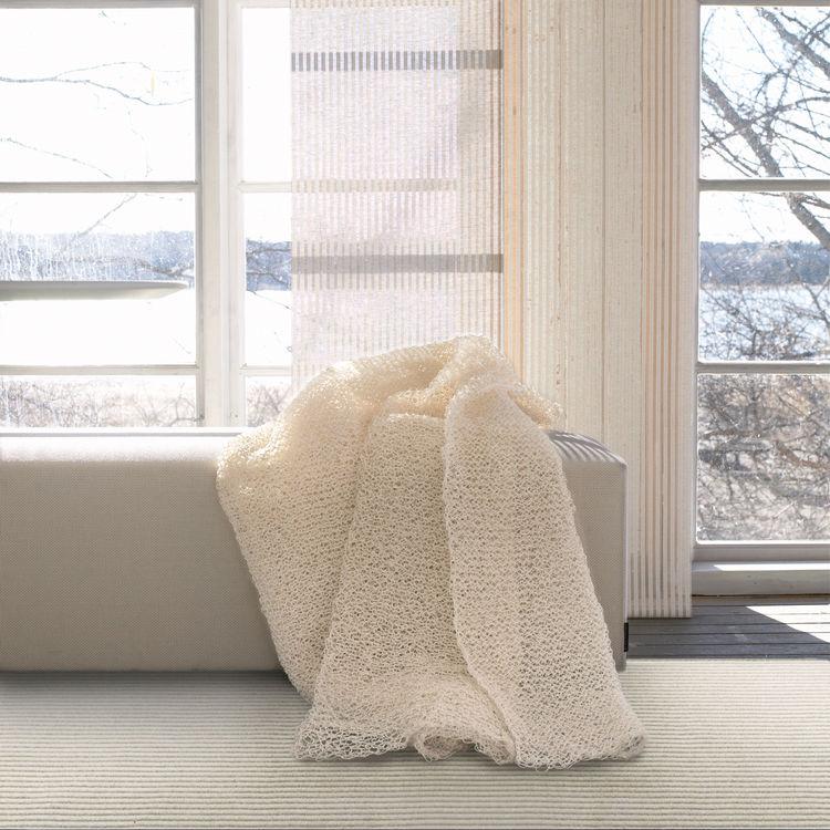 Veil Curtain. Ritva Puotila (Finnish, b. 1935), Woodnotes OY. Finland, 2008. Paper yarn. Photo: Woodnotes OY