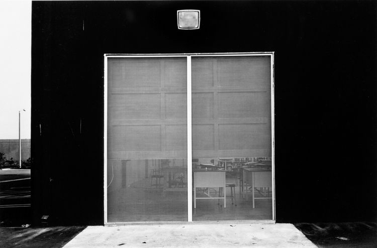 Lewis Baltz (American, b. 1945), <i>East Wall, McGaw Laboratories</i>, 1821, George Eastman House collections; © Lewis Baltz