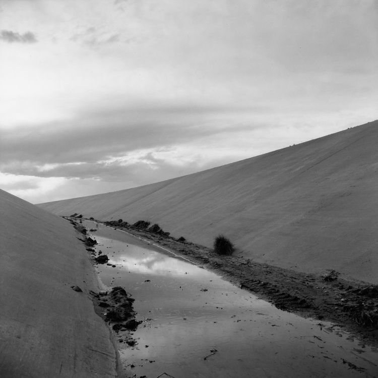 Frank Gohlke (American, b. 1942), <i>Irrigation Canal, Albuquerque, New Mexico</i>, 1974; George Eastman House collections; © Frank Gohlke