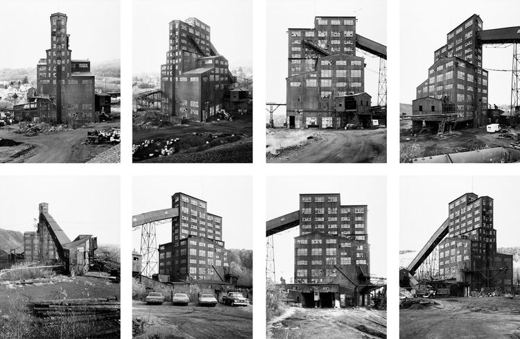 Bernd and Hilla Becher (German, 1931-2007 and b. 1934), <i>Preparation Plant, Harry E. Colliery Coal Breaker, Wilkes Barre, Pennsylvania, USA</i>, 1974; © Hilla Becher, 2009